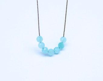 Necklace - Amazonit mini - SUMMER FAVORITE