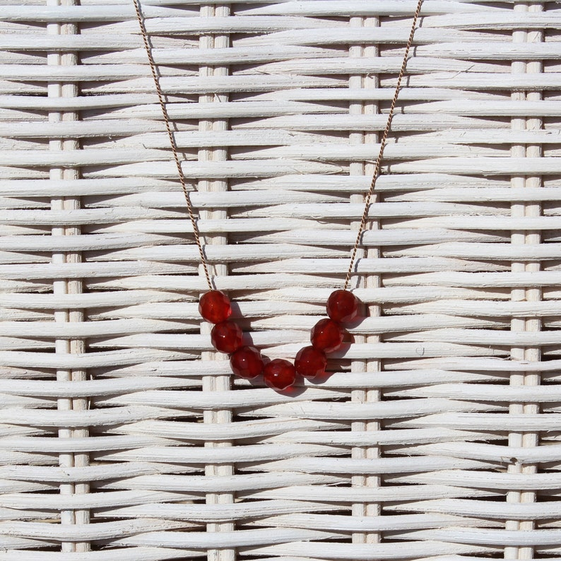 Necklace  Carnelian  SUMMER LIEBLING image 0