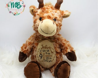 Giraffe Stuffed Animal Etsy