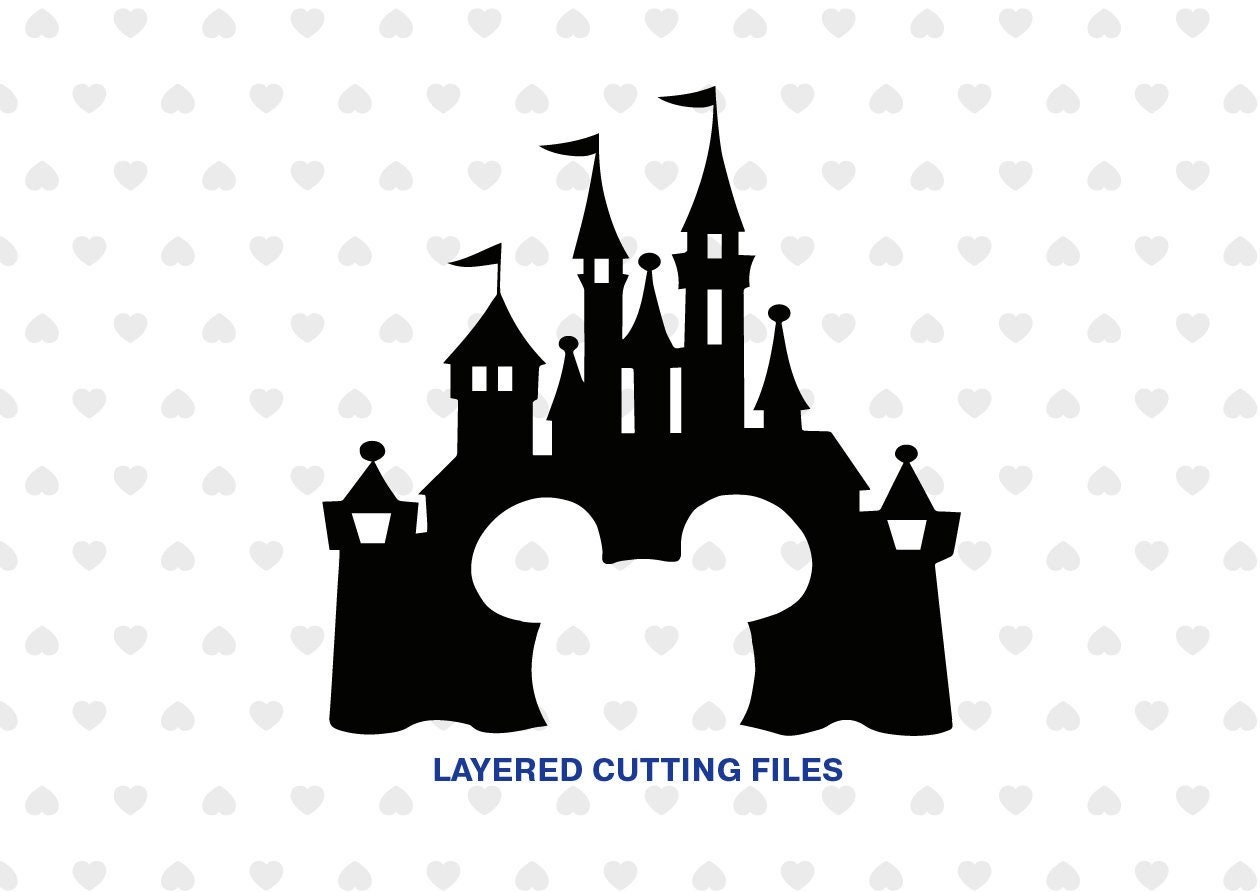Disney Castle svg Mickey Mouse SVG Disney Castle ...