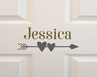 Indoor//Outdoor YARITZA Street Sign Childrens Name Room Decal