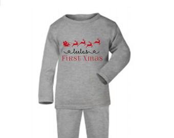 Baby christmas pyjamas 3a9cc5245