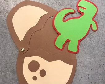 Dino Invitation