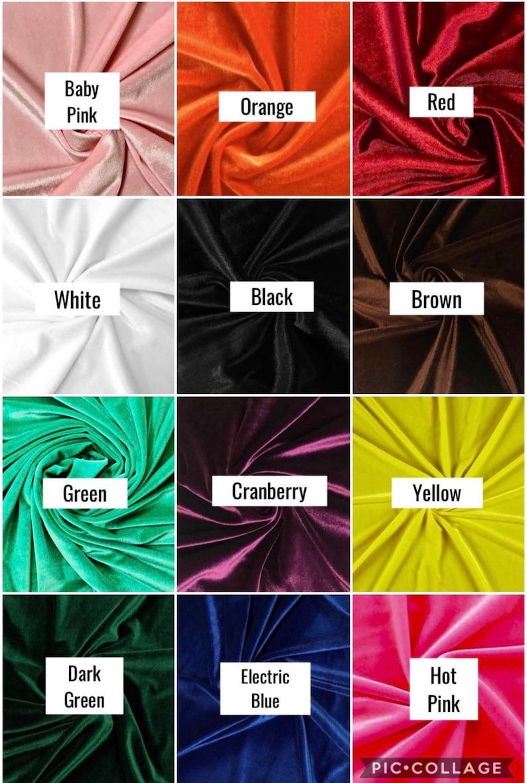 bd51e0c98d4b Velvet Hair Scrunchies / Fabric Scrunchies / Unique velvet | Etsy