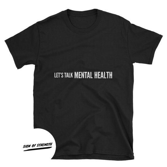 Let's Talk Mental Health| Depression | Anxiety  Unisex T-Shirt