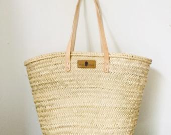Basket bag BASIC with lockable drawbar