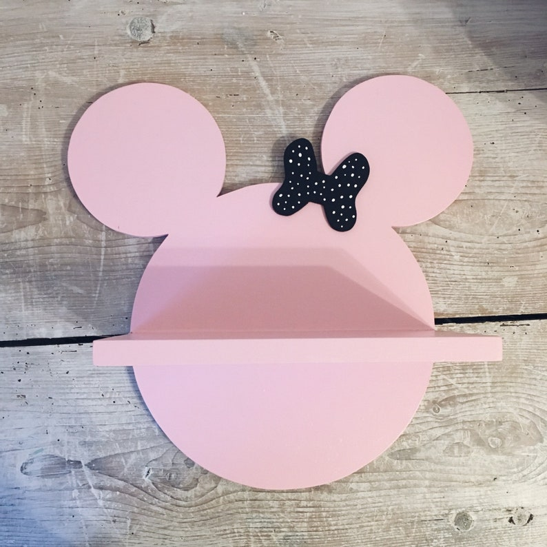 Regal Kinder Minnie Maus Kopf rosa