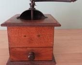 Peugeot wooden coffee grinder