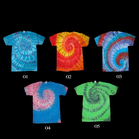 Fashion T-Shirt,Spiral Monochrome Black Fashion Personality Customization