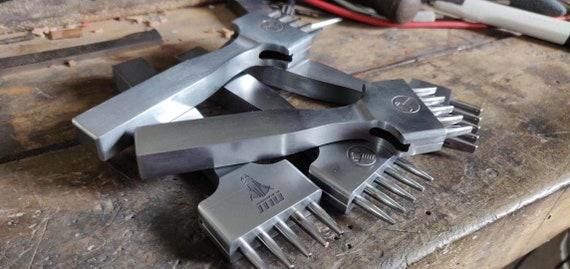 Perforatrice ovale/carré/rectangulaire triple triple triple sur mesure en cuir maroquinerie outils Outils Cyis d84dba