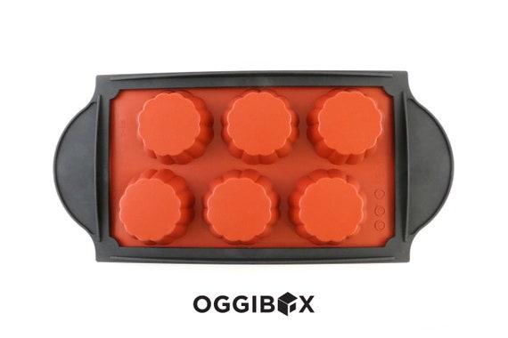 Oggibox 6-Cavity Popover Muffin Silicone Mold