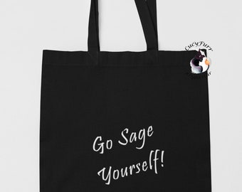 FREE UK SHIPPING Tote Bag Good Vibes Funny Quote Grace and Frankie Inspired