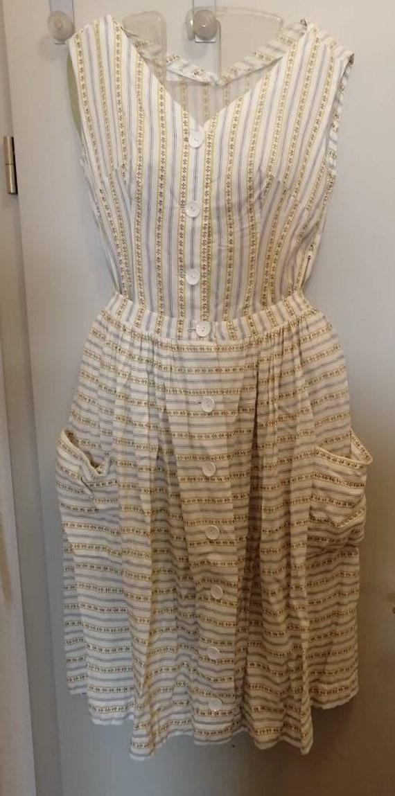 50s Beach Set, Jumpsuit, Beach Suit, Skirt