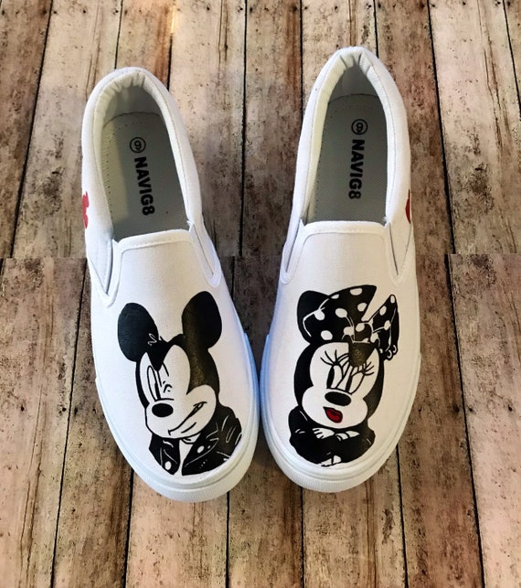 Minnie Mouse Shoes Biker Mickey