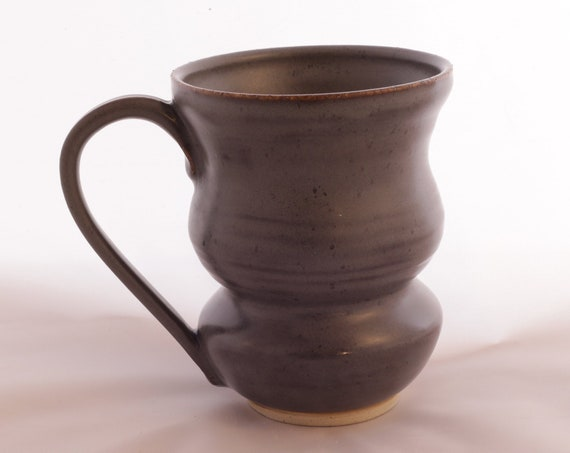 Funky ceramic coffee mug