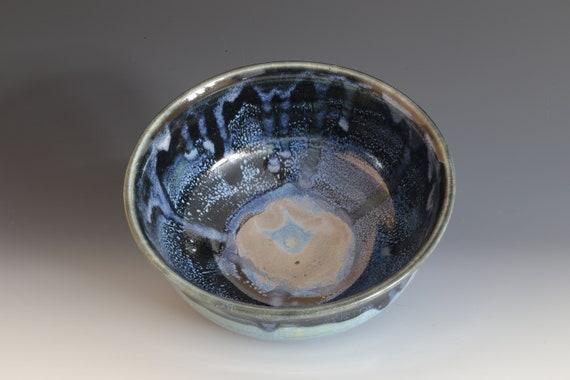 Blue/Black Soup Bowls
