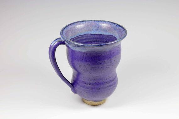 Lapis satin glazed mug