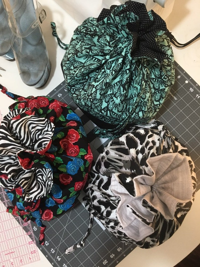 Rockabilly Roses Heel Sack