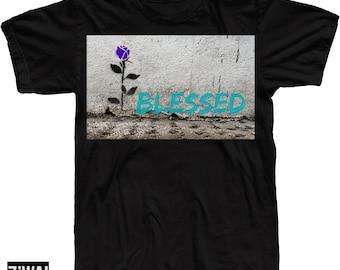 2abc42f2b272 Blessed Shirt In Jordan 8 Aqua Colorway 2015