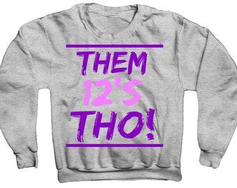 454d37c2b5c6 Thos 12 Sweatshirt In Retro Jordans