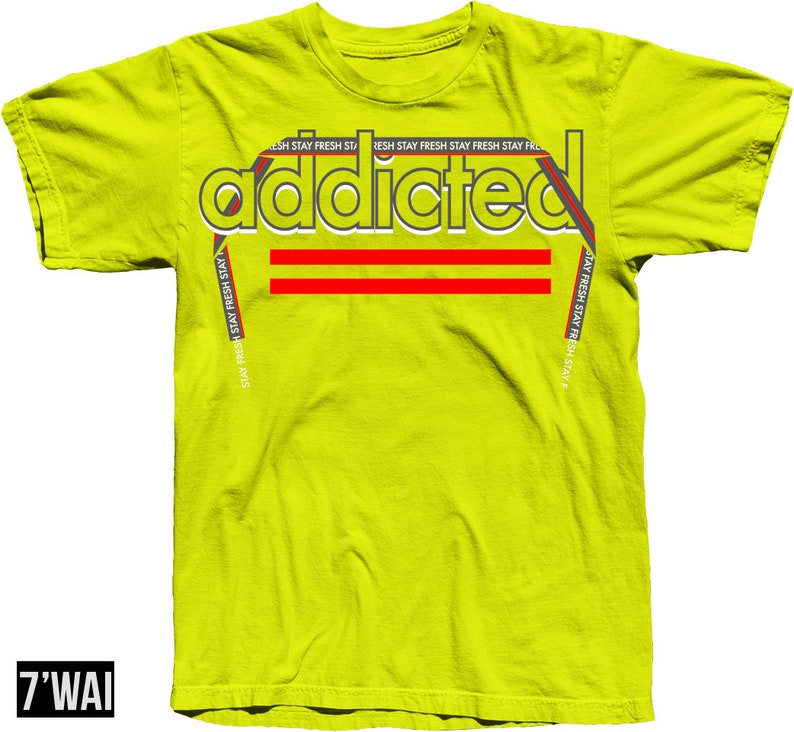 semi frozen yellow shirt