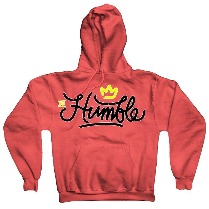 613640a5b823 Be Sweatshirt In Jordan 4 Hot Punch Colorway Retro