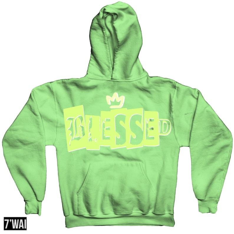 Stay Hoodie Sweatshirt In Yeezy Green Glow Boost 350 gid v2 Colorway 2019
