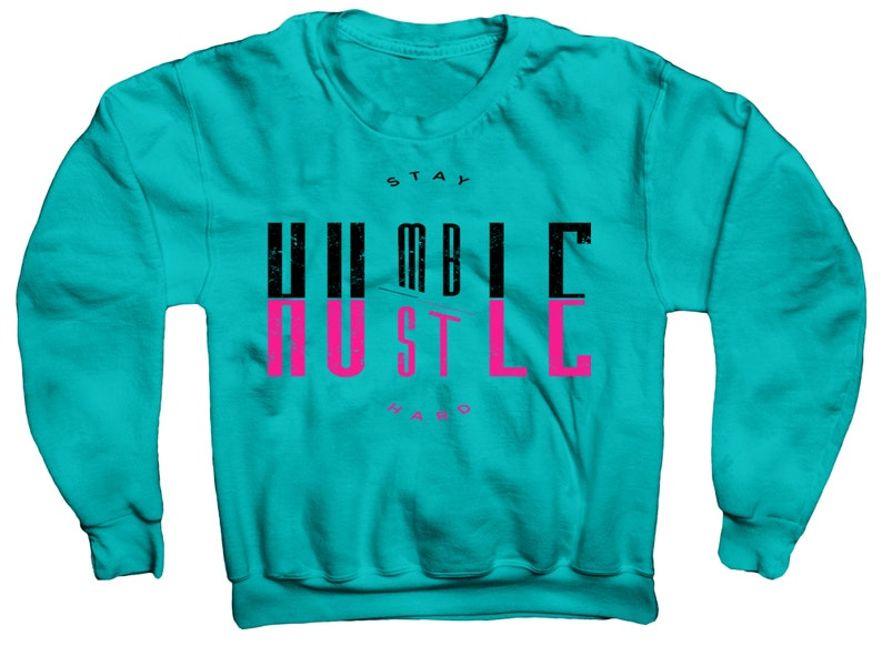 26220b6a84cd8 Humble Sweatshirt In Lebron 11 South Beach Sport Turquoise Colorway