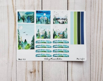 Passion Planner Weekly Kit- Mountains