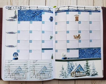 Passion Planner Monthly Kit - December 2021