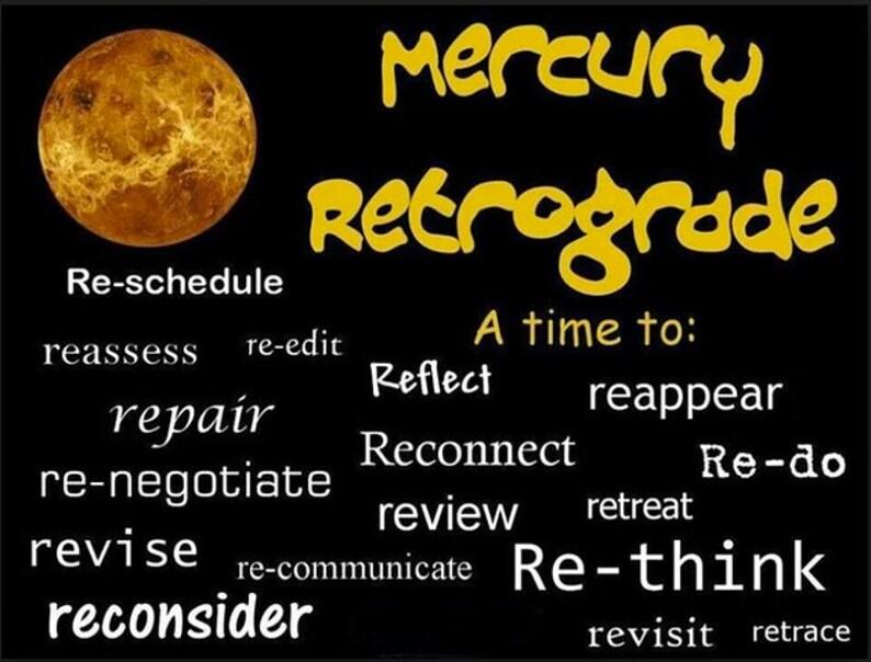 Mercury in retrograde dates 2020