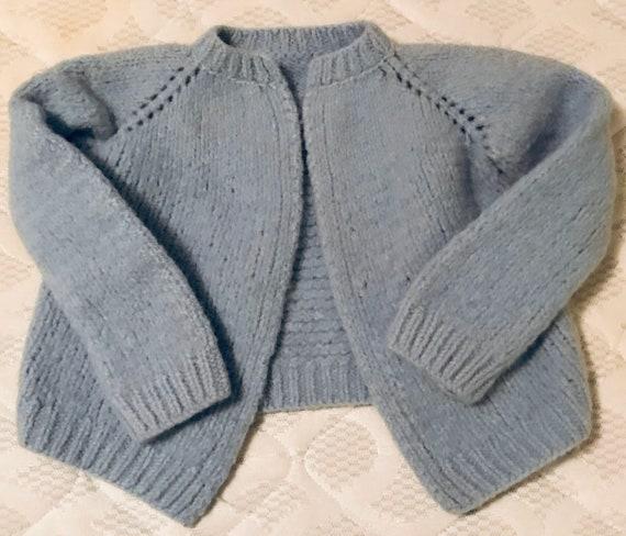Handmade Baby Cardigan Sweater