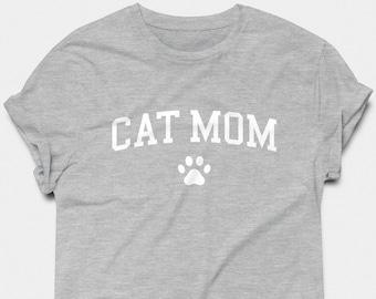 834f88f2f5 Cat Mom T-shirt