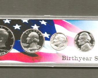 Empty Box For 1976 S PROOF 3 Coin Bicentennial 40/% SILVER Set With COA No Coins