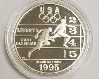 1995 Civil War Battlefield PROOF Half Dollar US Commemorative 50c Coin Box COA