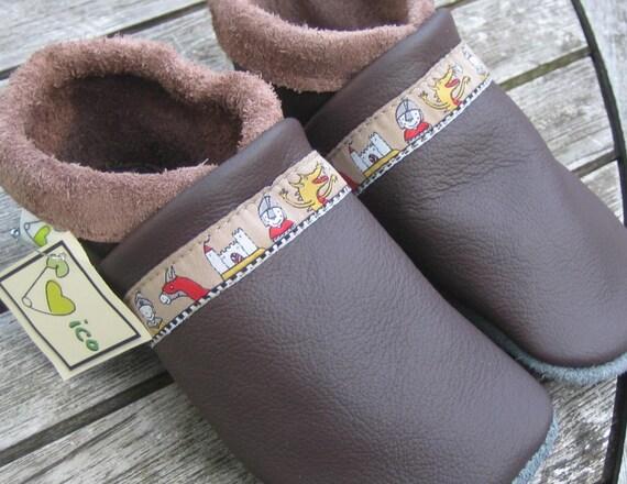 Baby Lauflernschuhe Leder Hausschuhe Schuhe Puschen Krabbelschuhe Kinder