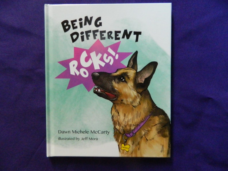 Being Different Rocks  Children's Picture Book  German image 0
