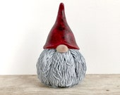 Latex rubber mold mould for concrete plaster resin and more Scandinavian gnome nordic nisse