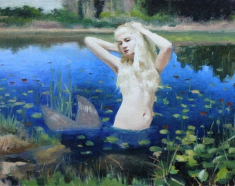 Mermaid of the Lillies