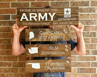 Army Home Decor Etsy