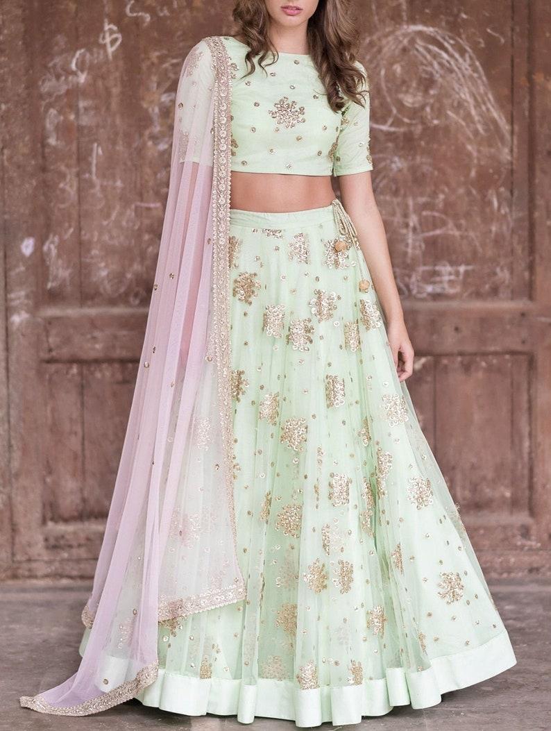 Exclusive Indian Ethnic Wedding Wear Hand Embroidered Lehenga Comes With Lovely Dupatta Wedding Lehenga Indian Dress Trending Latest