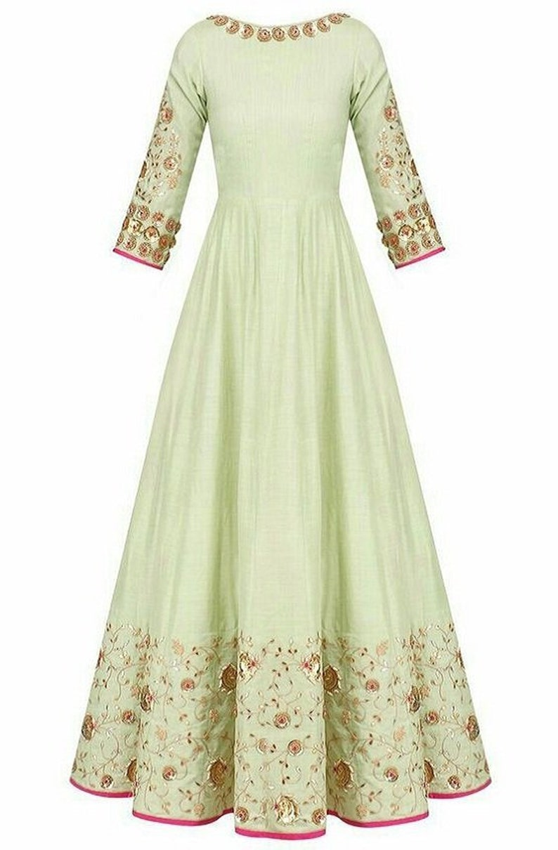 7f724e9f99 Indian Pakistani Traditional Handmade Embroidered Kurti | Etsy