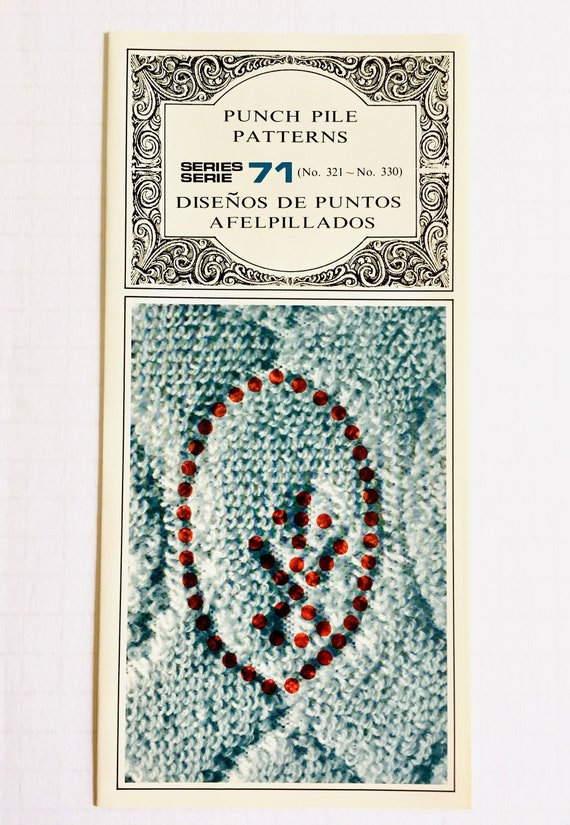 Silver Reed PUNCHCARDS  CARD SERIES 60 Single Motif **NEW** 10 Cards NO 311-320