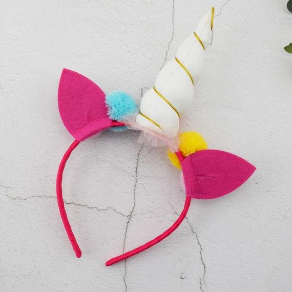 Unicorn Headband Hairband Magique Enfants Enfants Multicolore