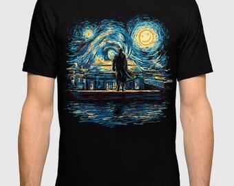 d40e808aac37 Sherlock Starry Night T-Shirt