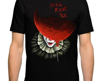 81ecf633f Pennywise IT T-Shirt, Men's Women's All Sizes