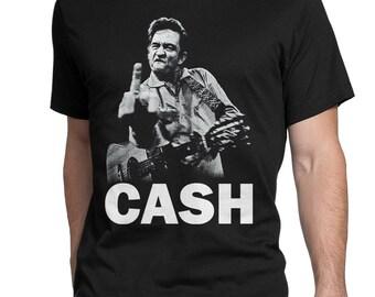 5c7b26166 Johnny Cash Rock'n'Roll T-Shirt, Men's Women's All Sizes