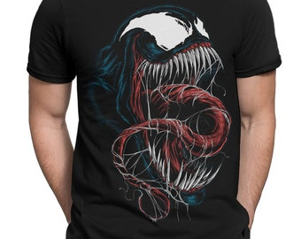 fe4cec5b Venom Art T-Shirt, Marvel Comics Tee, Men's Women's All Sizes