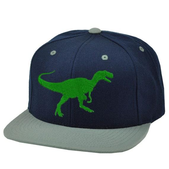 Kid/'s Favorite Dinosaur Tyrannosaurus Baseball Cap Hat Snapback Black//Pink