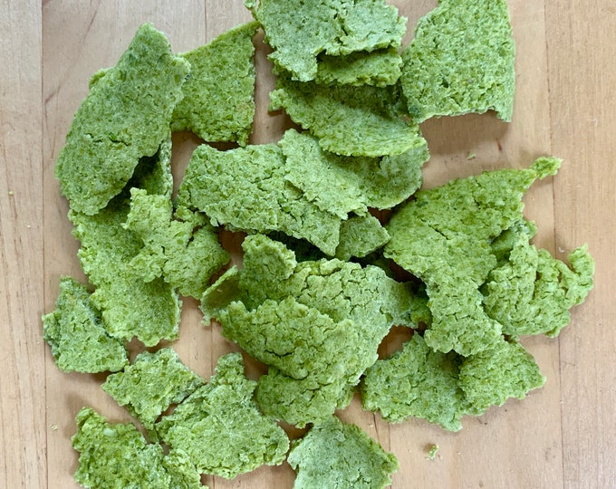 Featured listing image: Organic Pea Flakes | Handmade in house in USA! | Bunny Rabbit, Guinea Pig, Chinchilla, Hamster, Gerbil, Rat, Chicken, Mouse, Small Pet Treat